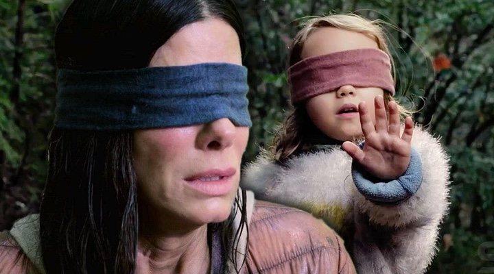 Sandra Bullock y Vivien Lyra en 'A ciegas'