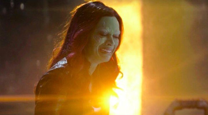 Fotograma de Gamora en 'Infinity War'