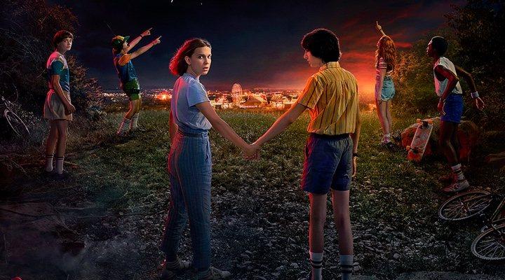 Póster promocional tercera temporada 'Stranger Things'
