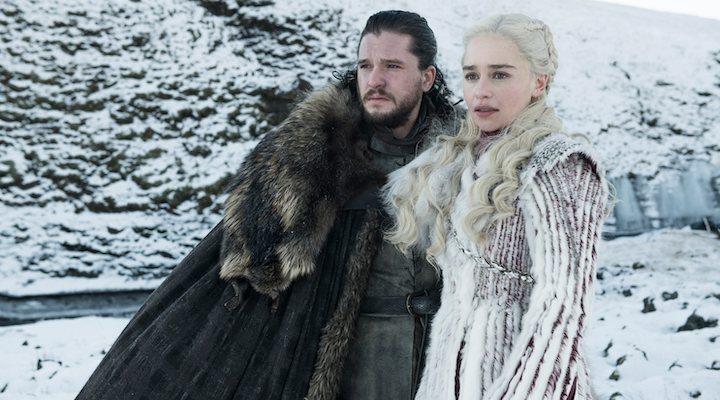 Jon y Daenerys en la octava temporada de 'Juego de Tronos'