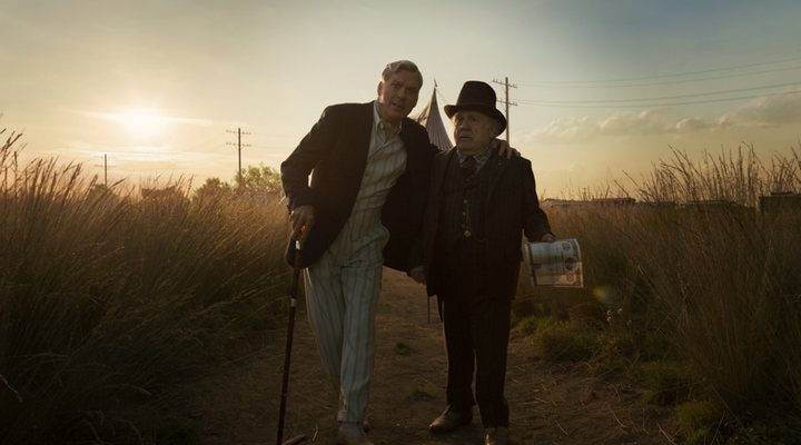 Michael keaton y Danny DeVito en 'Dumbo'