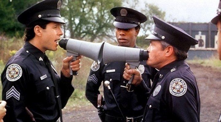 'Loca academia de policía'