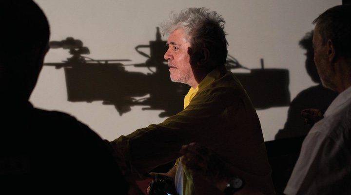 Imagen del director durante el rodaje