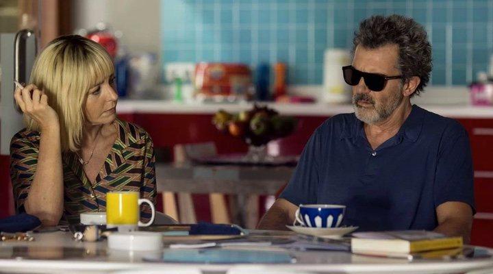 Nora Navas y Antonio Banderas en 'Dolor y gloria'