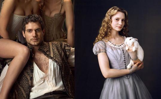 Wasikowska y Fassbender en 'Jane Eyre'