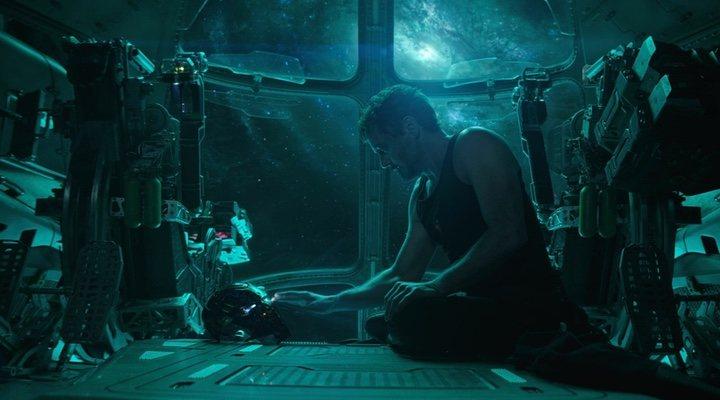 Robert Downey Jr. como Tony Stark en 'Vengadores: Endgame'