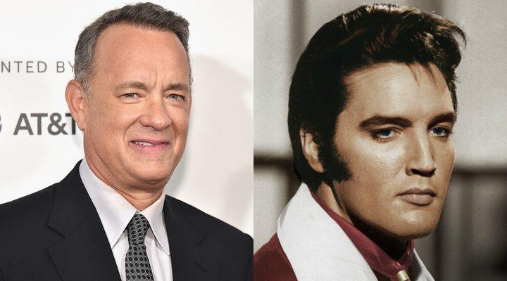 Tom Hanks y Elvis Presley