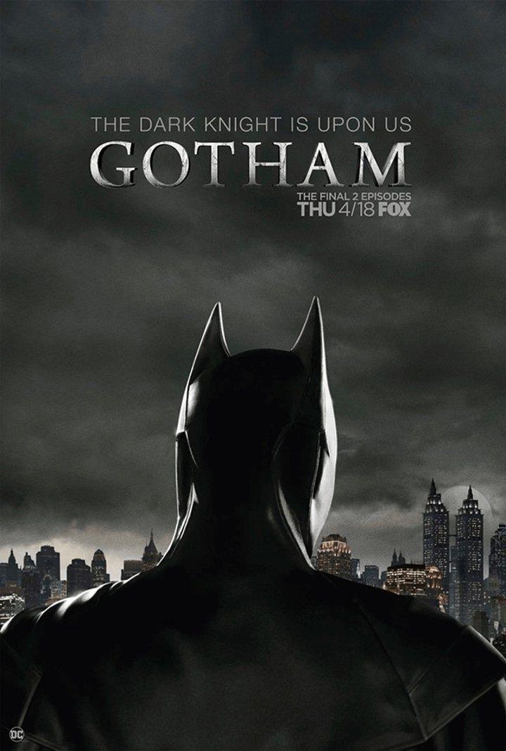 Primera imagen oficial de David Mazouz como Batman