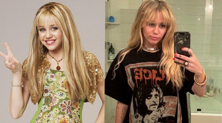 Hannah Montana y Miley Cyrus ahora