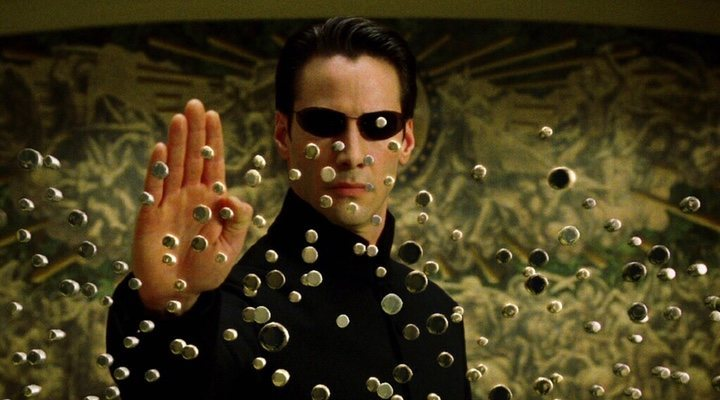 'Bullet time' en 'Matrix'