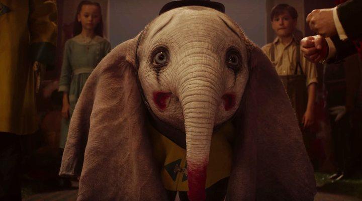 Fotograma de 'Dumbo de Tim Burton