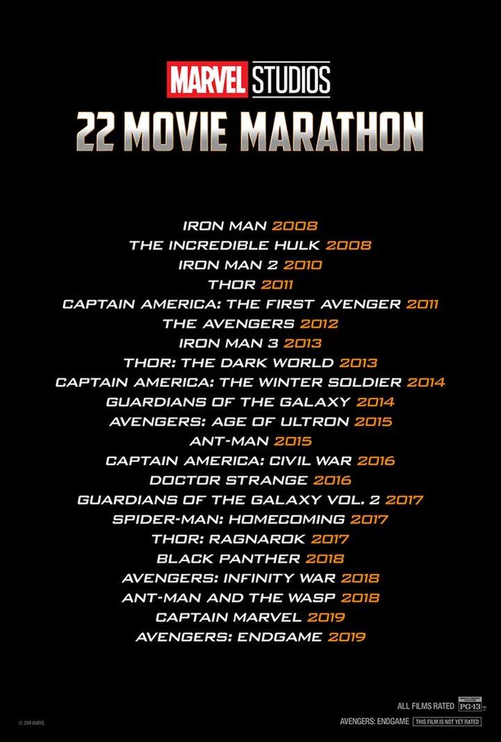 Maratón Marvel