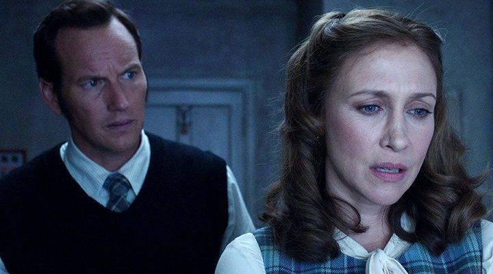 Patrick Wilson y Vera Farmiga en 'Expediente Warren'