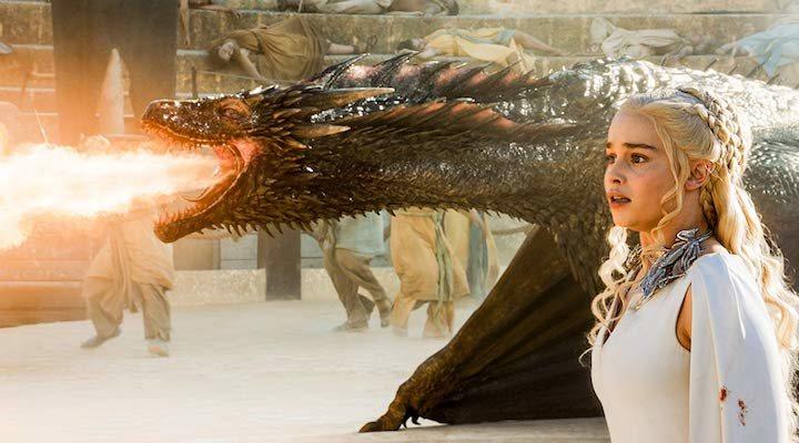 Daenerys en 'Danza de dragones'