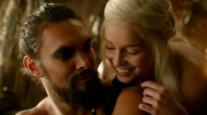 Khaleesi y Khal Drogo