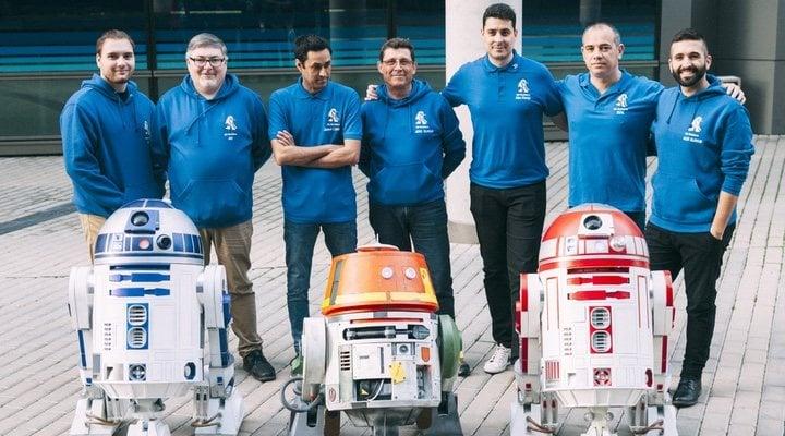 Miembros de R2-D2 Builders Club España