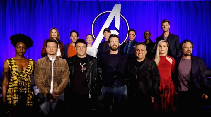 Rueda de prensa de 'Vengadores. Endgame'