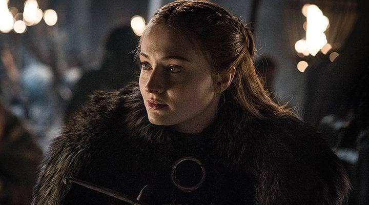 'Sansa Stark en una imagen de la temporada 8 de 'Juego de Tronos''