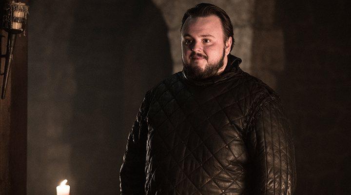 'Sam protagoniza dos importantes momentos con Daenerys y Jon en el episodio'