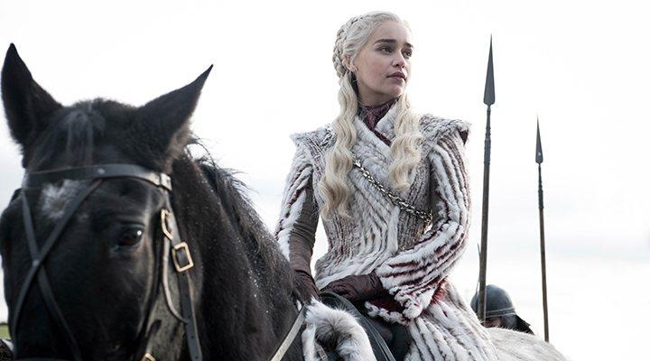 'Daenerys en una imagen del 08x01 de 'Juego de Tronos''