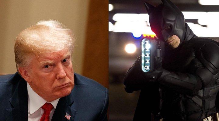 Donald Trump El Caballero Oscuro