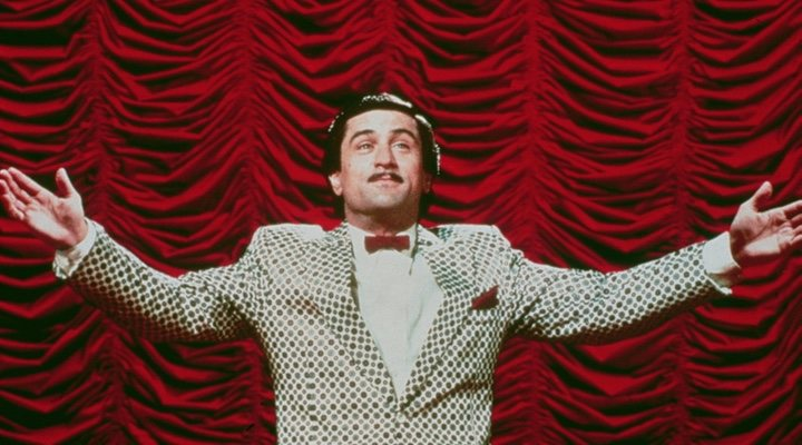 Robert De Niro en 'El rey de la comedia'