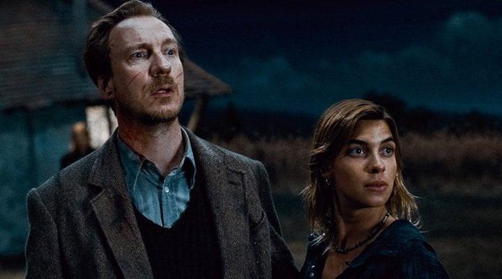 'Lupin y Tonks en 'Harry Potter''