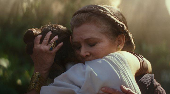 Rey y Leia