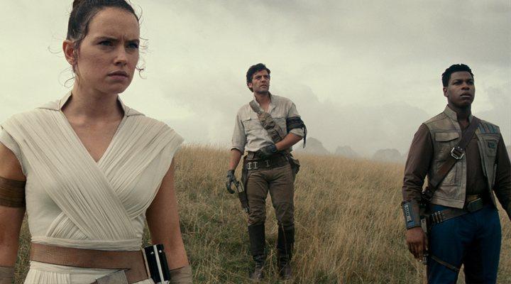 Daisy Ridley y Oscar Isaac en 'Star Wars: The Rise of Skywalker'