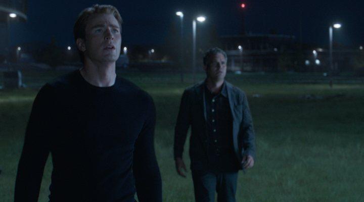 Capitán América y Bruce Banner