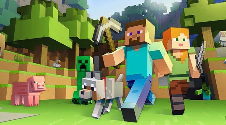 Imagen del videojuego 'Minecraft'