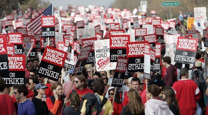 huelga guionistas