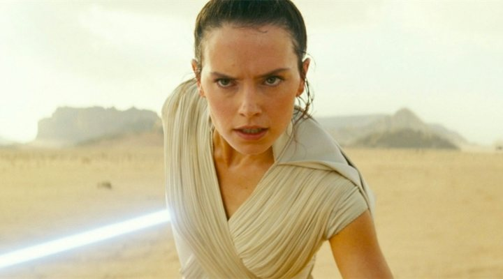 Daisy Ridley en 'Star Wars: The Rise of Skywalker'