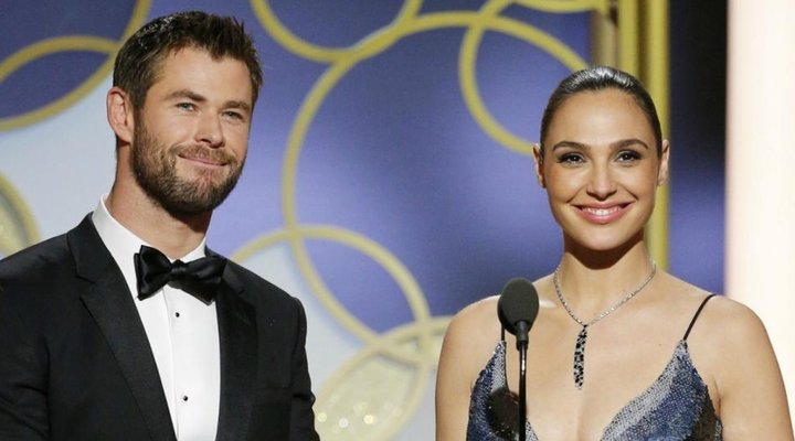Gal Gadot y Chris Hemsworth