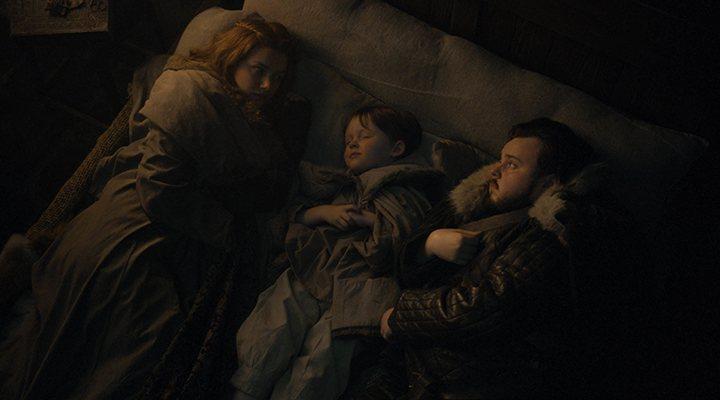 'Sam y Gilly pasan su última noche juntos antes de la batalla'