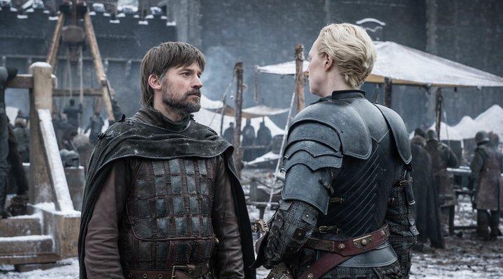 Brienne y Jaime Lannister