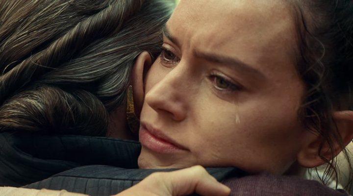 Rey y la Princesa Leia en 'Star Wars: El Ascenso de Skywalker'