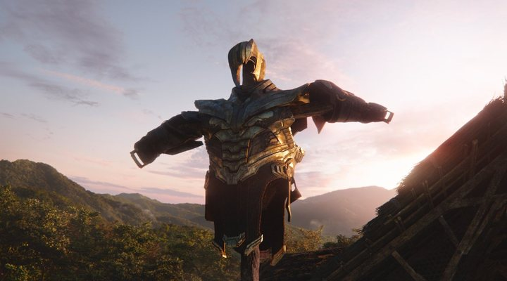La armadura de Thanos en 'Vengadores: Endgame'