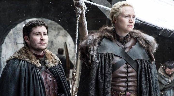 Daniel Portman y Gwendoline Christie en 'Juego de Tronos'