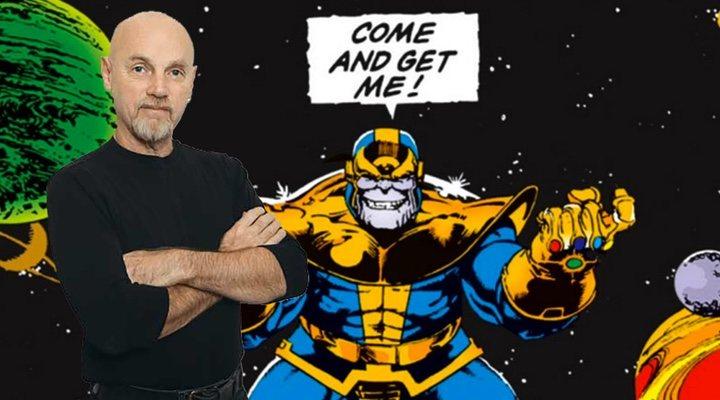 Jim Starlin, creador de Thanos.
