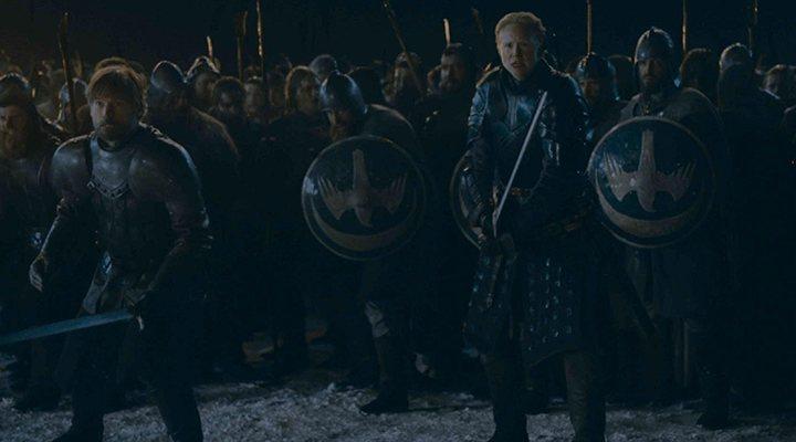 'Jaime y Brienne se preparan para la batalla'