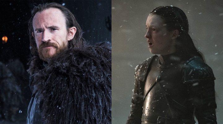 Edd el Penas y Lyanna Mormont