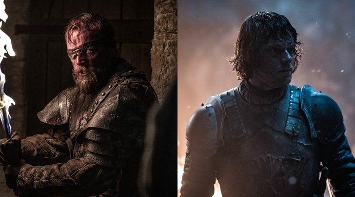 Beric Dondarrion y Theon Greyjoy