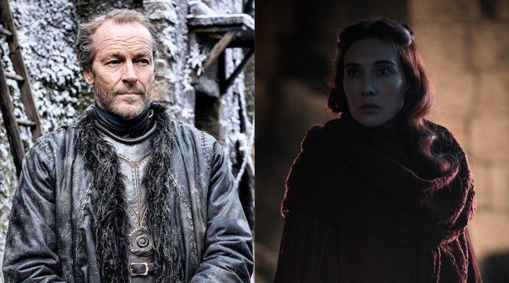 Jorah Mormont y Melisandre