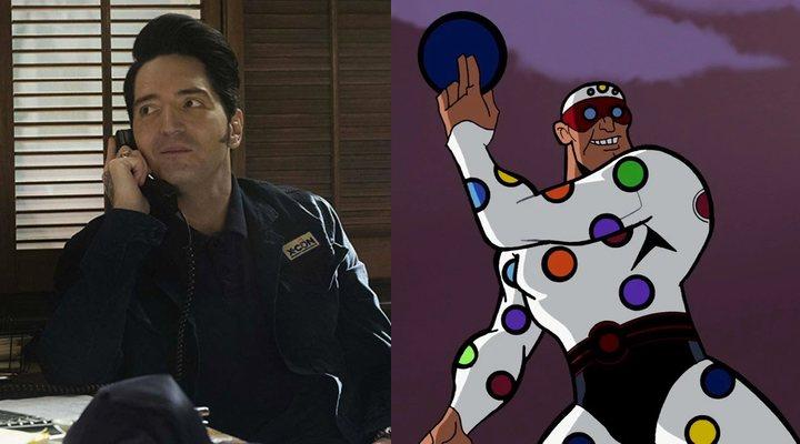 David Dastmalchain en 'Ant-Man' y Polka-Dot Man en 'El intrépido Batman'