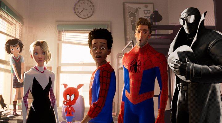 Los protagonistas de 'Spider-Man: Un nuevo universo'