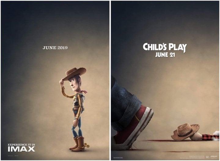 'Toy Story 4' y 'Muñeco diabólico'