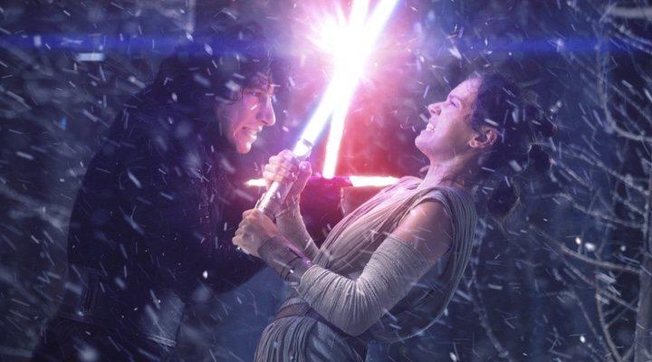 'Star Wars': Rey y Kylo enfrentados