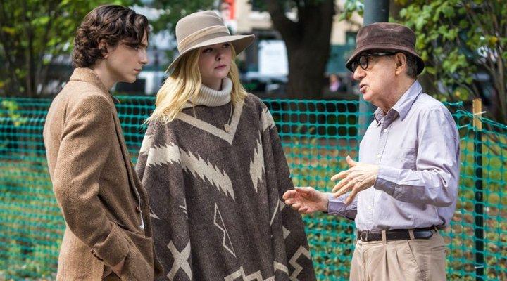 'A Rainy Day in New York Woody Allen Estreno Italia