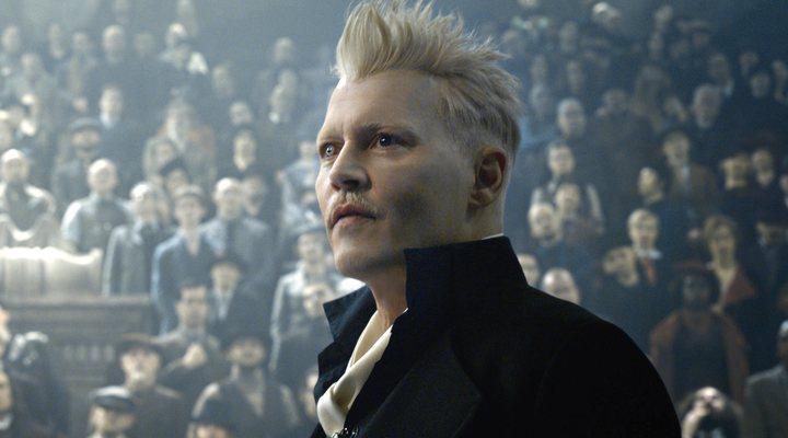 Johnny Depp, Los crímenes de Grindelwald